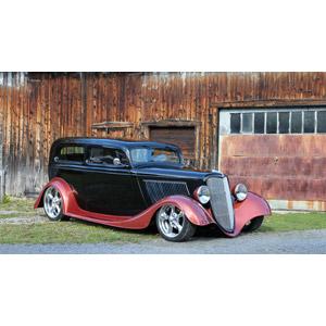 フリー写真, 乗り物, 自動車, クラシックカー, フォード