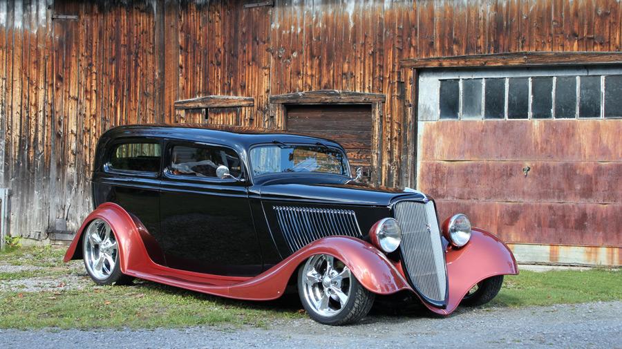 フリー写真 1934年式フォード