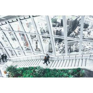 フリー写真, 風景, 建造物, 建築物, 都市, 街並み(町並み), 階段, イギリスの風景, ロンドン, 人と風景