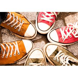 フリー写真, 靴(シューズ), スニーカー
