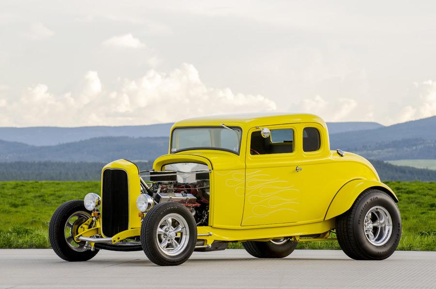 フリー写真 1932年式 フォード デュースクーペ