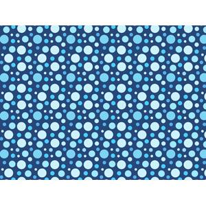 フリーイラスト, ベクター画像, AI, 背景, 水玉模様(ドット柄), 青色(ブルー)