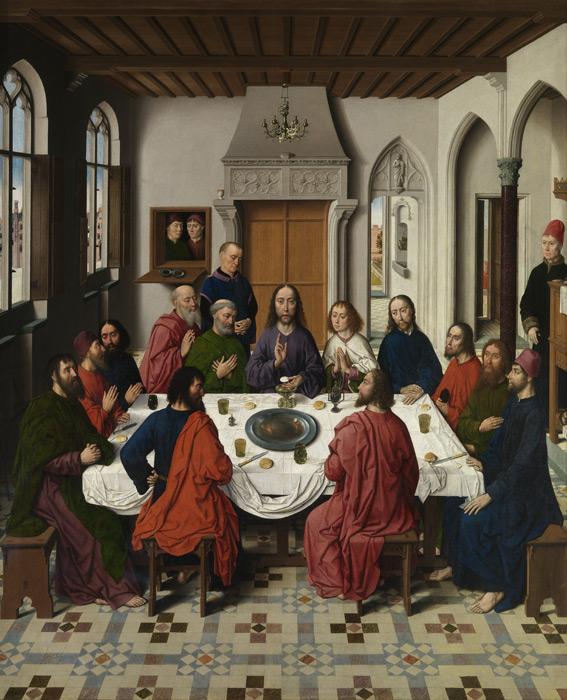 フリー絵画 ディルク・ボウツ作「最後の晩餐」