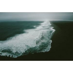 フリー写真, 風景, 自然, 海, 波しぶき, 砂浜(ビーチ)