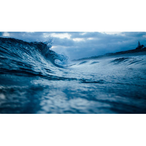 フリー写真, 風景, 自然, 海, 波, ニュージーランドの風景