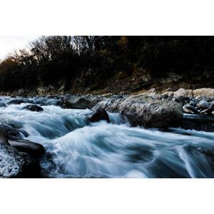 フリー写真, 風景, 自然, 河川, 渓流, 日本の風景, 山梨県