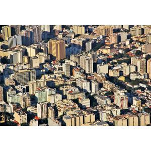 フリー写真, 風景, 建造物, 建築物, 高層ビル, 都市, 街並み(町並み), ブラジルの風景, リオ・デ・ジャネイロ