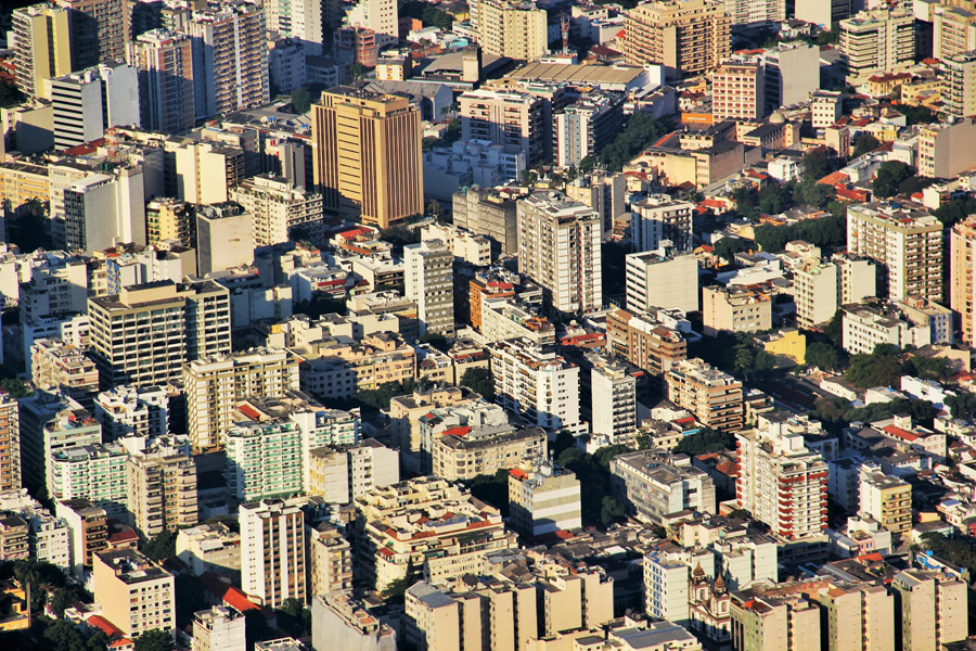 フリー写真 リオデジャネイロの街並み