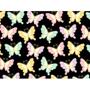 フリーイラスト, ベクター画像, AI, 背景, 和柄, 昆虫, 蝶(チョウ)