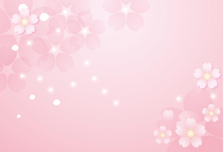 フリーイラスト] 桜の花と ...