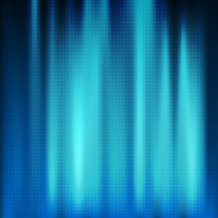 フリーイラスト ドットと青色の光の背景