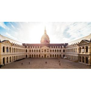 フリー写真, 風景, 建造物, 建築物, 病院, 博物館(美術館), オテル・デ・ザンヴァリッド, フランスの風景, パリ