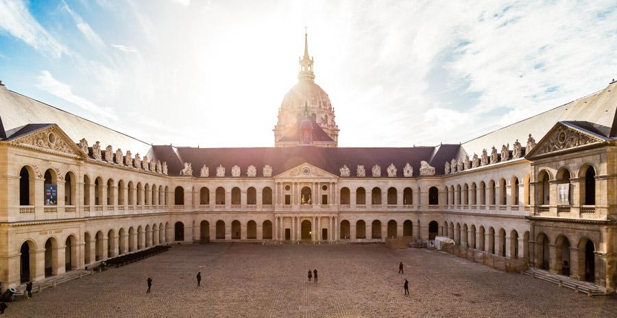 フリー写真 オテル・デ・ザンヴァリッドの風景