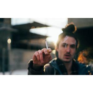 フリー写真, 人物, 男性, 外国人男性, 煙草(タバコ)