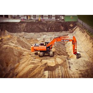 フリー写真, 建設機械(重機), ショベルカー(ユンボ), 土木, 工事