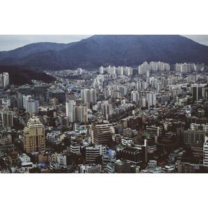 フリー写真, 風景, 建造物, 建築物, 高層ビル, 都市, 街並み(町並み), 韓国の風景