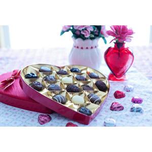 フリー写真, 年中行事, 2月, バレンタインデー, 食べ物(食料), 菓子, 洋菓子, チョコレート, ハート