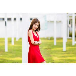 フリー写真, 人物, 女性, アジア人女性, Dora(00078), 中国人, ドレス