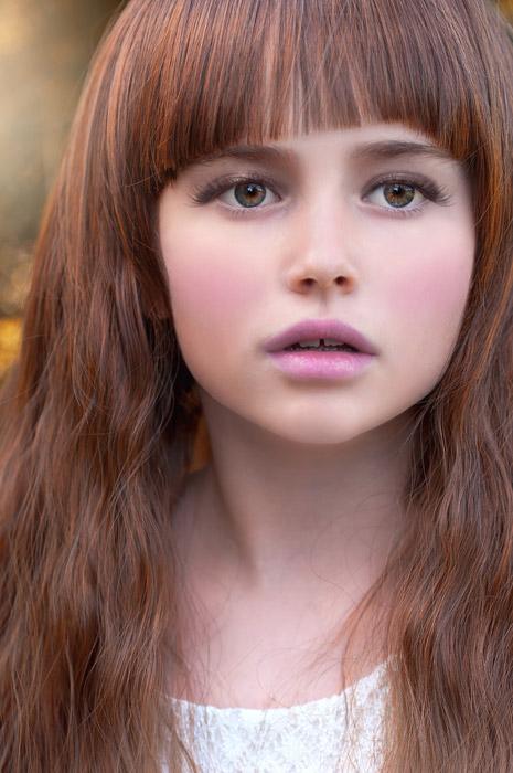 フリー写真 外国の女の子のポートレイト