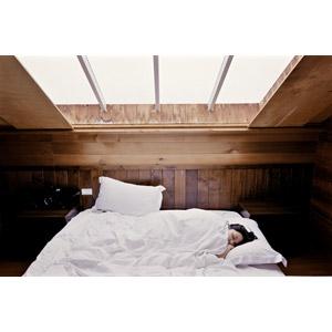 フリー写真, 人物, 女性, アジア人女性, 寝る(寝顔), ベッド