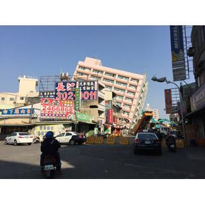 フリー写真, 災害, 自然災害, 地震, 建造物, 建築物, 高層ビル, 破壊, 2016年台湾南部地震, 台湾の風景