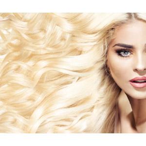フリー写真, 人物, 女性, 外国人女性, 女性(00163), 髪の毛, 金髪(ブロンド), 美容