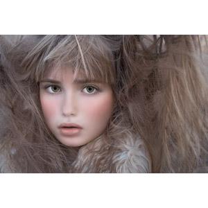 フリー写真, 人物, 子供, 女の子, 外国の女の子, 女の子(00034), 髪の毛
