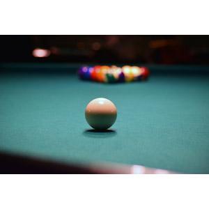 フリー写真, スポーツ, ゲーム, ビリヤード, ビリヤードボール