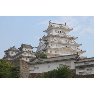 フリー写真, 風景, 建造物, 建築物, 城, 姫路城, 日本の風景, 兵庫県, 世界遺産