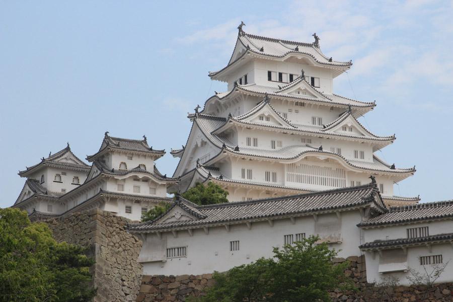 フリー写真 姫路城の風景