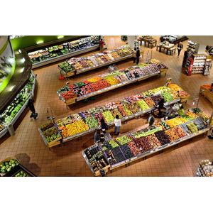 フリー写真, 風景, スーパーマーケット, 買い物(ショッピング), 野菜, 果物(フルーツ)