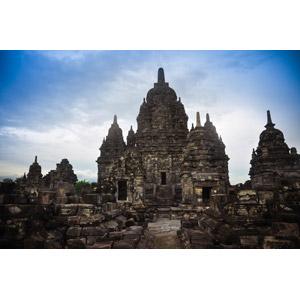 フリー写真, 風景, 建造物, 建築物, 遺跡, 寺院, インドネシアの風景, 世界遺産, プランバナン寺院群