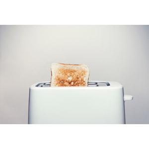 フリー写真, 食べ物(食料), パン, 食パン, 家電機器, 調理器具, トースター