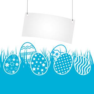 フリーイラスト, ベクター画像, AI, 背景, 卵(タマゴ), 年中行事, 復活祭(イースター), 春, タグ