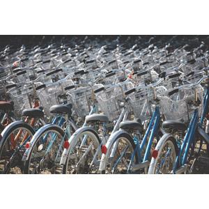 フリー写真, 風景, 乗り物, 自転車