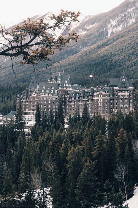 フリー写真 バンフ・スプリングス・ホテルの風景