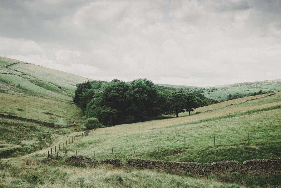 フリー写真 イギリスの牧場の風景