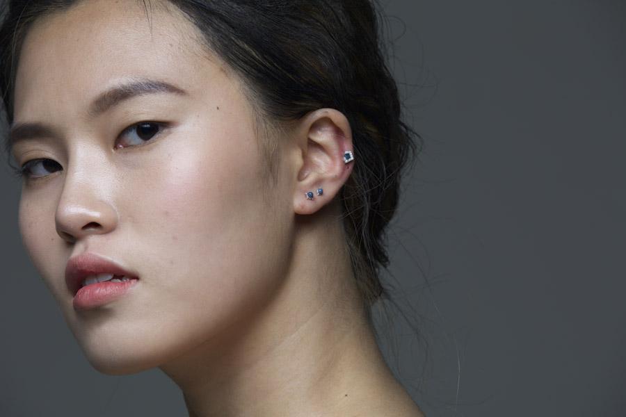 フリー写真 韓国人女性の顔