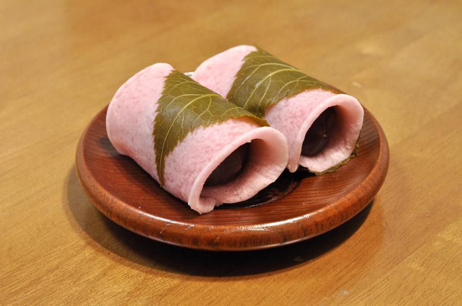 フリー写真 長命寺桜餅