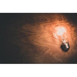 フリー写真, 照明器具, 電球, アイデア, 閃く