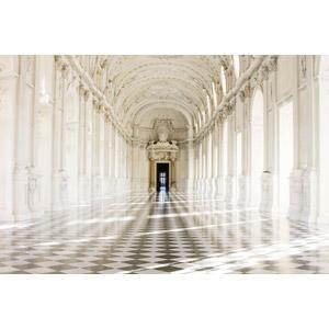 フリー写真, 風景, 建造物, 建築物, 宮殿, 回廊, 世界遺産, イタリアの風景, サヴォイア王家の王宮群, トリノ