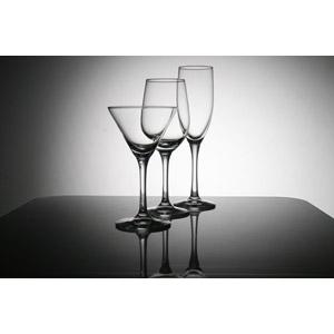 フリー写真, 食器, ワイングラス, カクテルグラス, シャンパングラス