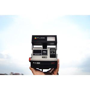 フリー写真, カメラ, インスタントカメラ, ポラロイドカメラ