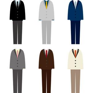 フリーイラスト, ベクター画像, AI, 衣服(衣類), メンズファッション, メンズスーツ, ネクタイ, ジャケット, ズボン(パンツ)