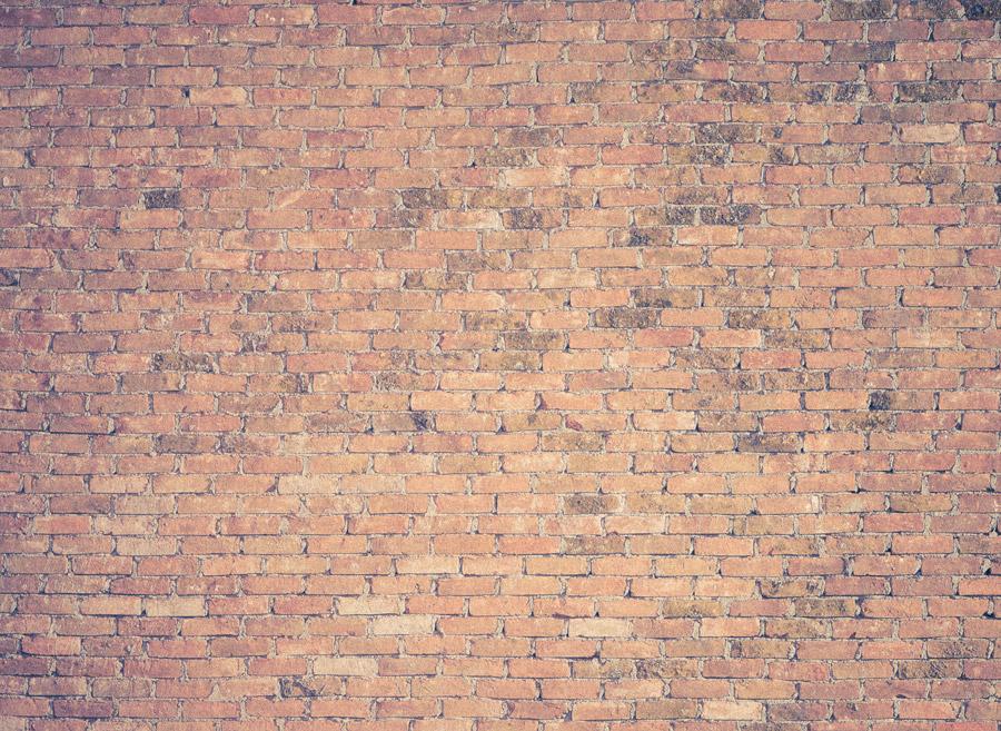 フリー写真 レンガ造りの壁の風景