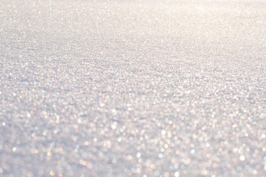 フリー写真 一面の雪の風景