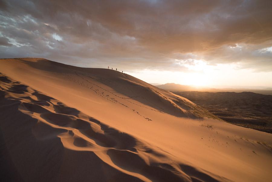 フリー写真 モハーヴェ砂漠の風景