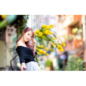 フリー写真, 人物, 女性, アジア人女性, 中国人, 女性(00173), セーター(ニット)