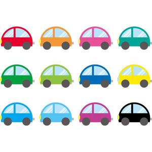 フリーイラスト, ベクター画像, AI, 乗り物, 自動車