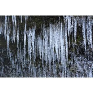フリー写真, 風景, 自然, 氷, 氷柱(つらら)
